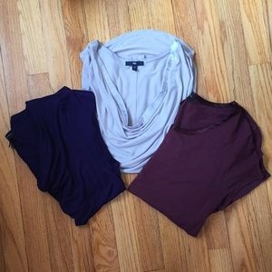 3 pretty tops from Gap and Banana Republic